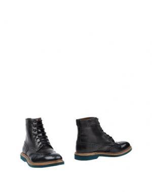 Полусапоги и высокие ботинки WEXFORD. Цвет: стальной серый