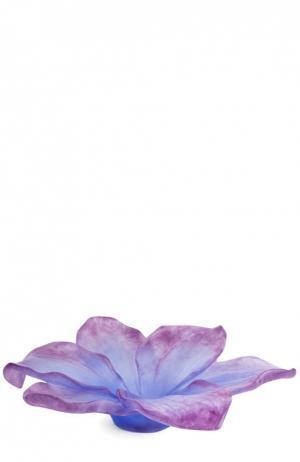 Ваза для фруктов большая Daum. Цвет: фиолетовый