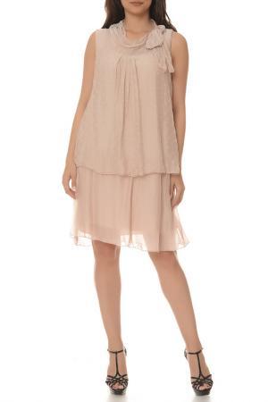 Платье LA BELLE PARISIENNE. Цвет: розовый