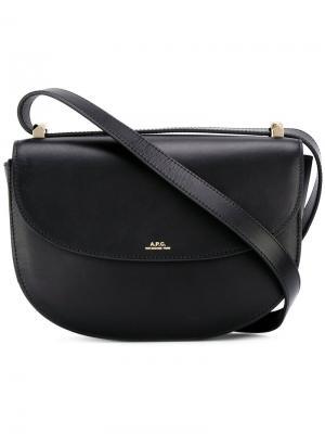 Genéve shoulder bag A.P.C.. Цвет: чёрный