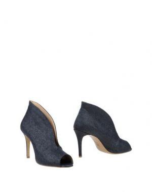 Ботинки L'ARIANNA. Цвет: синий