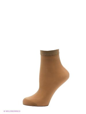 Носки, 2 пары OMERO. Цвет: светло-бежевый