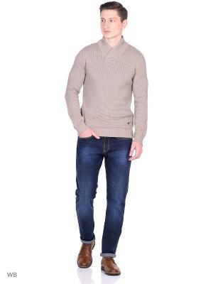 Пуловер Jack&Jones. Цвет: бежевый