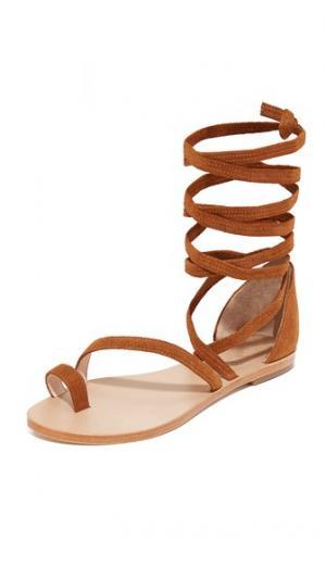 Гладиаторские сандалии Sloane Raye. Цвет: коричневый
