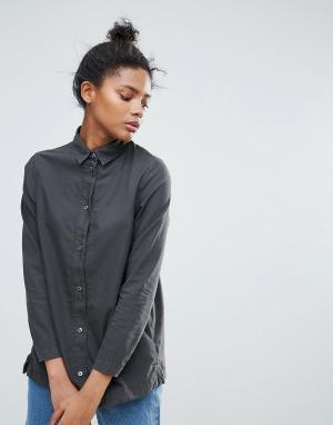 Waven Джинсовая рубашка Nott 3.0. Цвет: черный