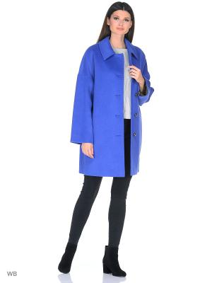 Пальто Gamelia. Цвет: синий