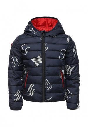 Куртка утепленная Catimini. Цвет: синий