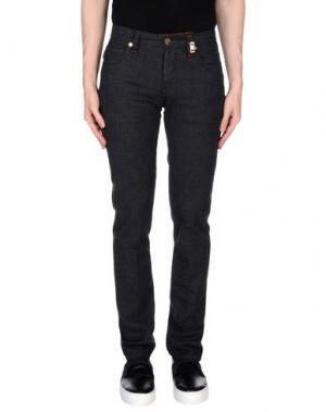 Повседневные брюки TRAMAROSSA. Цвет: стальной серый