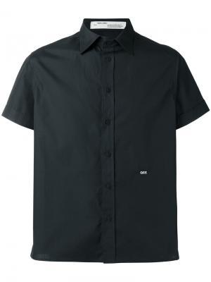 Рубашка Othelo Off-White. Цвет: чёрный