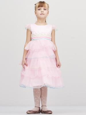 Платье Baby Moses. Цвет: розовый, голубой