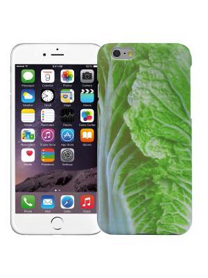 Чехол для iPhone 6/6s Пекинская капуста Kawaii Factory. Цвет: светло-зеленый, белый