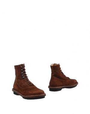 Полусапоги и высокие ботинки TRIPPEN. Цвет: коричневый