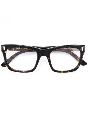 Очки Yona Moscot. Цвет: коричневый