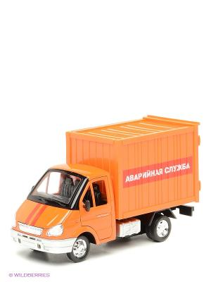Газель Технопарк аварийная служба. Цвет: оранжевый