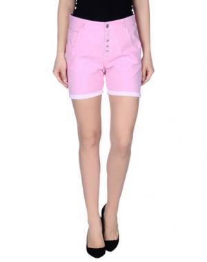 Повседневные шорты JCOLOR. Цвет: розовый