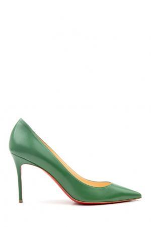 Кожаные туфли Decollete 554 85 Christian Louboutin. Цвет: none