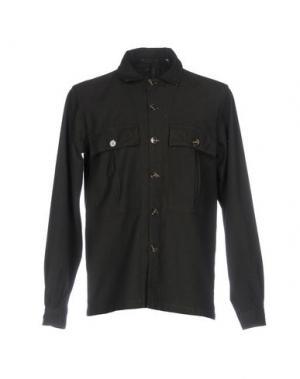 Pубашка D.R SHIRT. Цвет: темно-зеленый