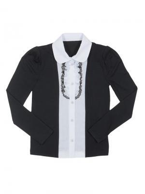 Блузка Stillini. Цвет: черный, белый