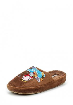 Тапочки Dream Feet. Цвет: коричневый