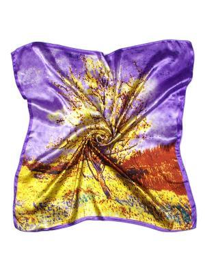 Платок Tantino. Цвет: фиолетовый