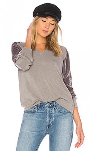 Пуловер tabora Velvet by Graham & Spencer. Цвет: серый