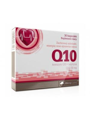 Коэнизм Olimp Q10 30mg (30 кап.) Nutrition. Цвет: белый,красный