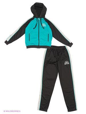 Спортивный костюм ADDIC. Цвет: бирюзовый