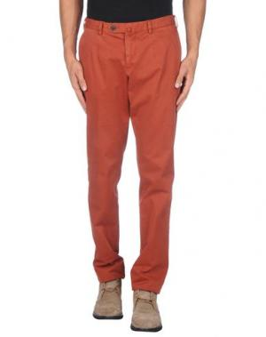 Повседневные брюки ALVIERO MARTINI 1A CLASSE. Цвет: ржаво-коричневый