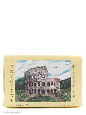 Марсельское мыло Рим Iteritalia. Цвет: желтый