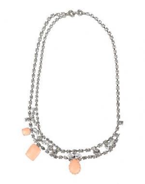 Ожерелье TOM BINNS. Цвет: абрикосовый
