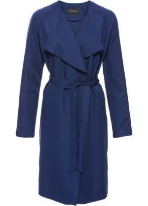 Летнее пальто без подкладки (ночная синь) bonprix. Цвет: ночная синь