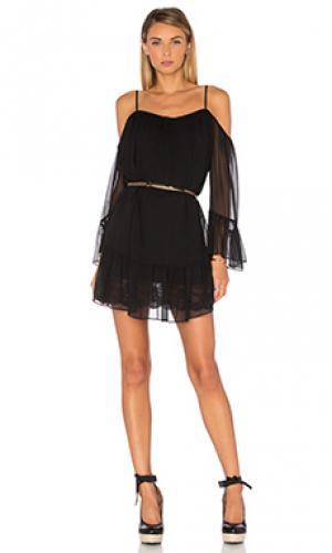 Платье henriette Amanda Uprichard. Цвет: черный