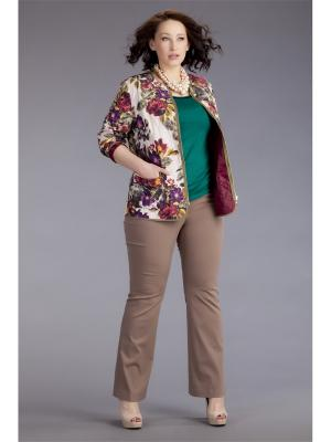 Куртка AVERI. Цвет: сливовый, оливковый, молочный