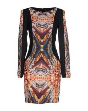 Короткое платье CUSTO BARCELONA. Цвет: оранжевый