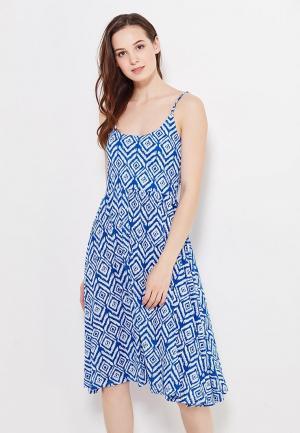 Платье Твое. Цвет: синий