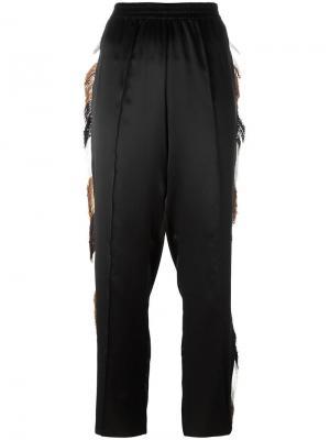 Спортивные брюки Aries. Цвет: чёрный