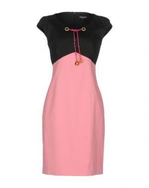 Короткое платье MARTA PALMIERI. Цвет: розовый