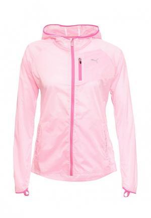 Ветровка Puma. Цвет: розовый