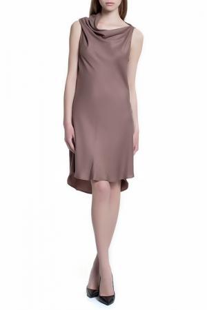 Платье STELLAR. Цвет: коричневый