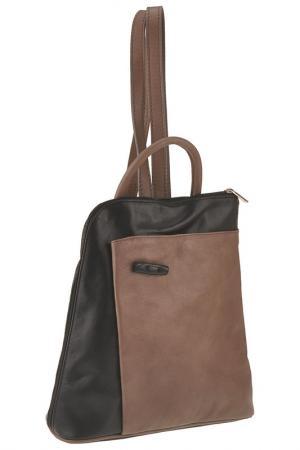 Рюкзак Emilio masi. Цвет: taupe-black