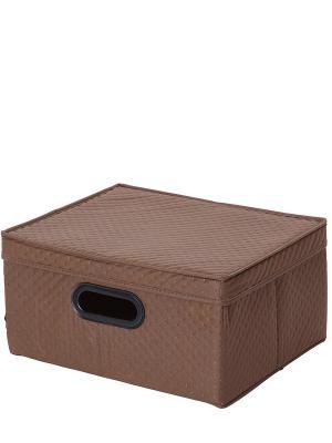 Короб для хранения DEEPOT. Цвет: коричневый