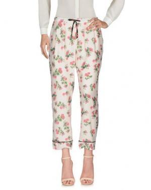Повседневные брюки SOALLURE. Цвет: светло-розовый