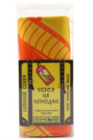 Чехол на чемодан SOVA COVER. Цвет: кукуруза