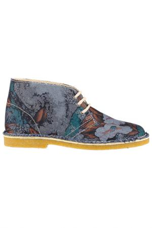 Ботинки Loriblu. Цвет: серо-голубой