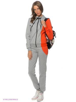 Спортивный костюм DOCTOR E. Цвет: серый, оранжевый