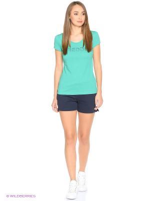 Комплект: футболка, шорты Freddy. Цвет: зеленый, серый