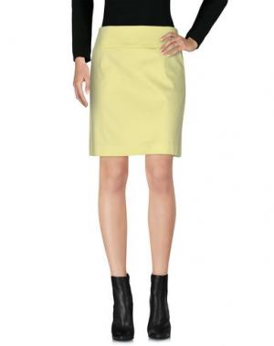 Мини-юбка LAURÈL. Цвет: желтый