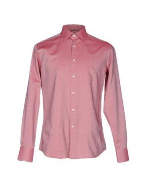 Pубашка INGRAM. Цвет: кирпично-красный