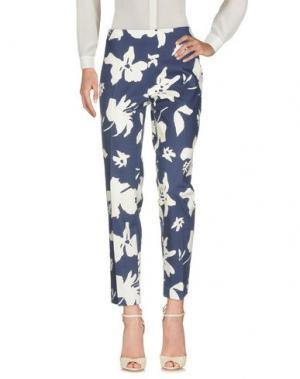 Повседневные брюки BLUKEY. Цвет: темно-синий