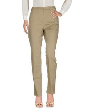 Повседневные брюки CIVIDINI. Цвет: хаки